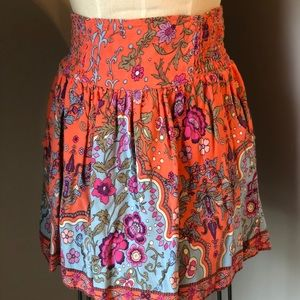 Xhilaration mini floral summer skirt sz. S
